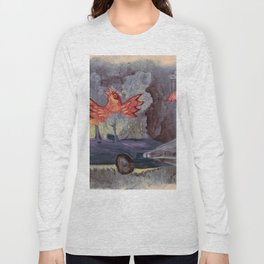 phenix in an old car Long Sleeve T-shirt