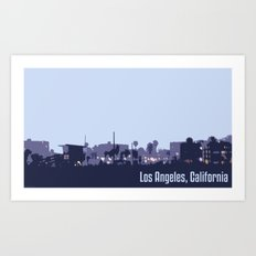 Venice Beach, Los Angeles Art Print