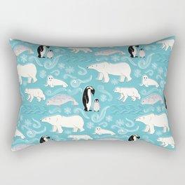 Artic Winter Wonderland Rectangular Pillow