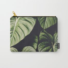 Monstera - Tropical Forest - nature photography Carry-All Pouch