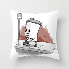 Monday Morning Coffee Throw Pillow
