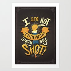 My Shot Art Print