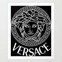 versace Art Prints featuring Versace by Nestor2
