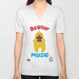 Devour Music Unisex V-Neck