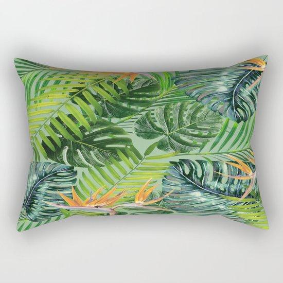 Jungle Tangle Paradise Rectangular Pillow