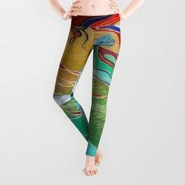 Mermaid and Butterflies Leggings