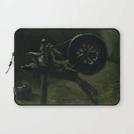 Spinning Wheel Laptop Sleeve