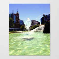 Victoria Square Canvas Print