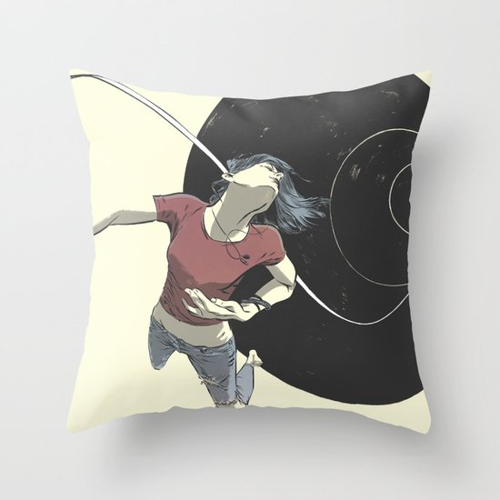 Vortex Throw Pillow