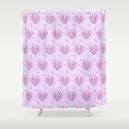 Baby feet background 4 Shower Curtain