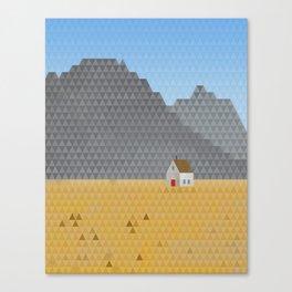 TriScape 1.4.1 - Wheat Field Canvas Print