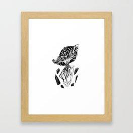 Hallucinogenic Fungus Framed Art Print