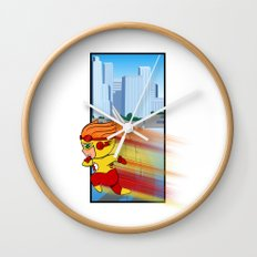 Kid Flash of Central City Wall Clock