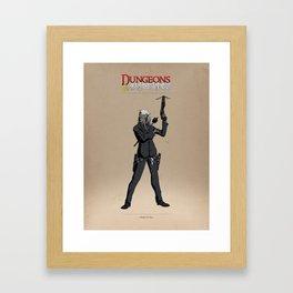 D&R Group 1: Hondo De Vetes Framed Art Print