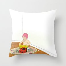 Things That Go Throw Pillow