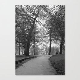 Winter Walks Canvas Print
