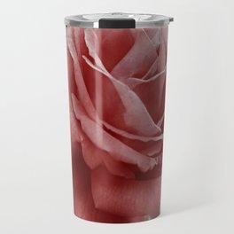 Vintage Dusty Rose Travel Mug