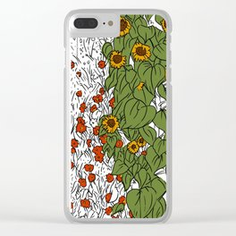 The Great Prairie Clear iPhone Case