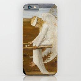 THE WOUNDED ANGEL - HUGO SIMBERG iPhone Case