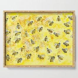 Honey Buzz Serving Tray