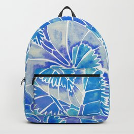 Schismatoglottis Calyptrata – Blue Palette Backpack