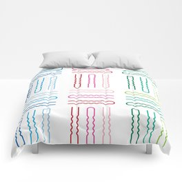 Hair Stylist Pattern Comforters