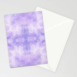 Light purple geometric design Stationery Cards