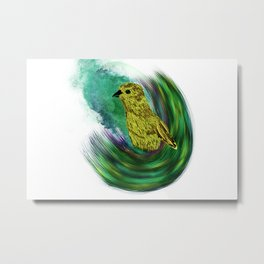 The Bird Iz The Wurd Series - The Little One Metal Print