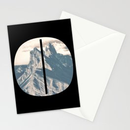 Nr. 0 | Numbers with a View | Typography Letter Art Stationery Cards