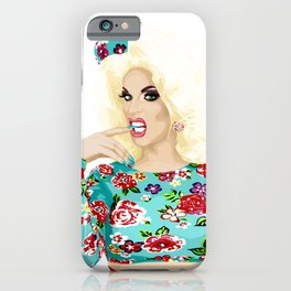 Katya Zamo, Jet Set Eleganza, RuPaul's Drag Race Queen iPhone Case