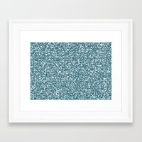 pool Framed Art Prints featuring POOL by aurelien vassal