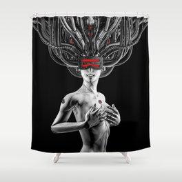 Hardwired Shower Curtain