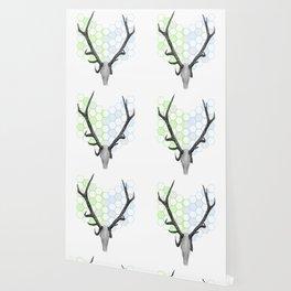 Stag Skull Wallpaper