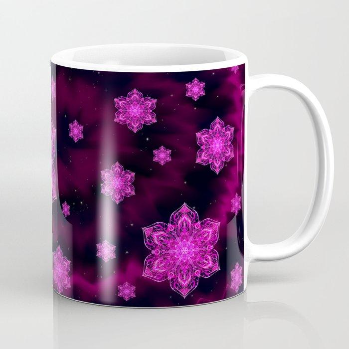 Starry Snow Spiral Coffee Mug