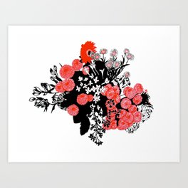 Bountiful Bouquet Art Print
