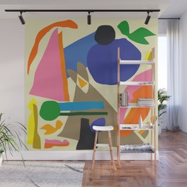 Abstract morning Wall Mural