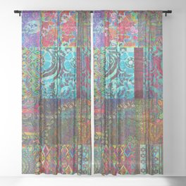 Bohemian Wonderland Sheer Curtain