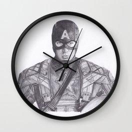 Captain comic America Wall Clock