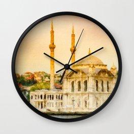Ortakoy Mosque Wall Clock