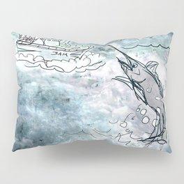 Fishing swordfish Pillow Sham