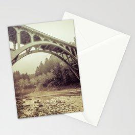 Cape Creek Bridge Oregon Coast Stationery Cards