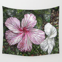 Fabulous hibiscus Wall Tapestry