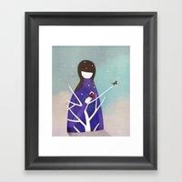 My home Framed Art Print