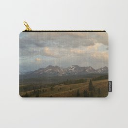 Sawtooth Mountains Carry-All Pouch