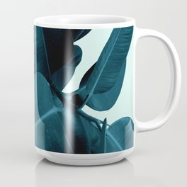 Blue Leaves Coffee Mug