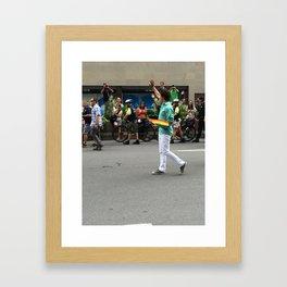 Justin Trudeau Pride Framed Art Print