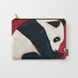 The Panda and the Butterfly Carry-All Pouch