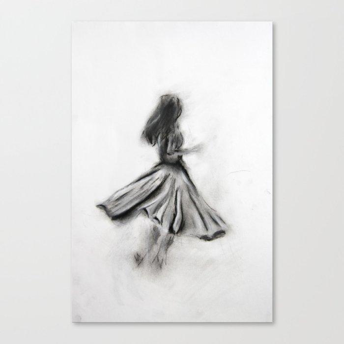 Dancer / 02 Canvas Print