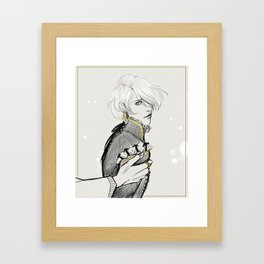 Captive Prince: Laurent of Vere Sketch Framed Art Print