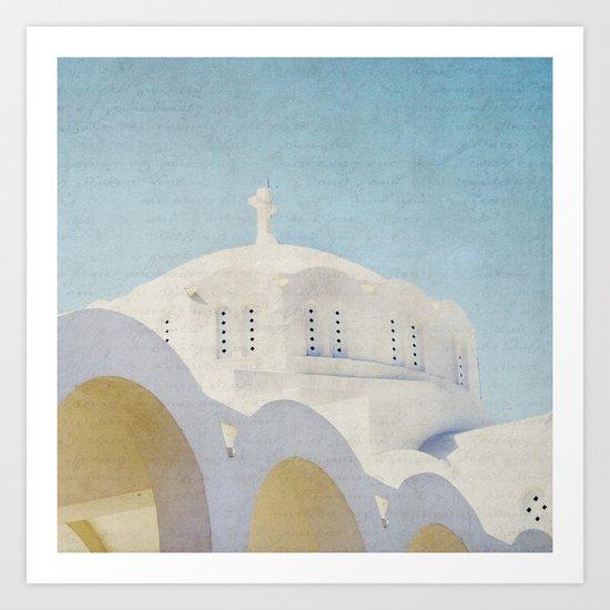The White Arches Art Print